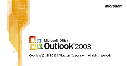Email στα Outlook 2003