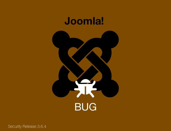 Joomla bug